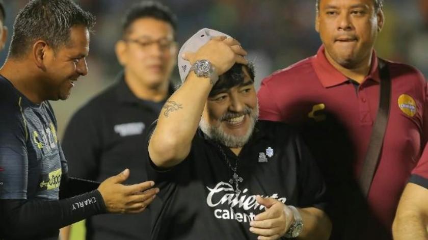 """""""En Dorados me miman"""", Diego Armando Maradona"""