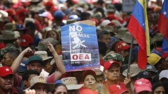 Organiza Maduro marcha contra OEA