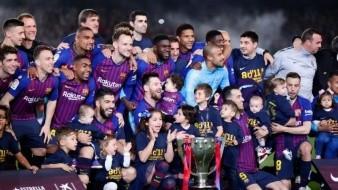Se proclama Barcelona campeón por décima vez en era de Leo Messi