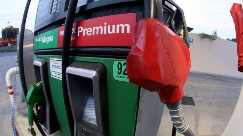 """Gasolineras de Navojoa y Cajeme se encuentran en la lista de """"Quién es quién"""" en precios del combustible que presentó esta mañana el gobierno federal."""