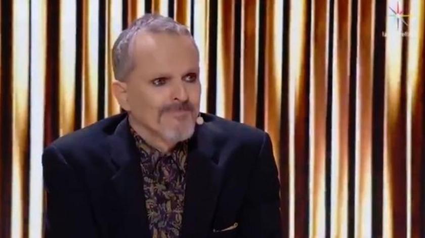 Miguel Bosé lloró y da segunda oportunidad en 'Pequeños Gigantes'