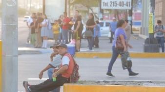 Fotogalería: Camiones siguen sin salir a trabajar en Hermosillo