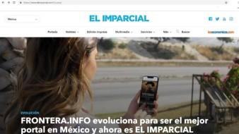 Grupo Healy se consolida en el mundo digital con EL IMPARCIAL, como una sola marca que integra en un mismo sitio las audiencias de FRONTERA.INFO de Tijuana, LACRÓNICA.COM de Mexicali y ELIMPARCIAL.COM de Sonora.