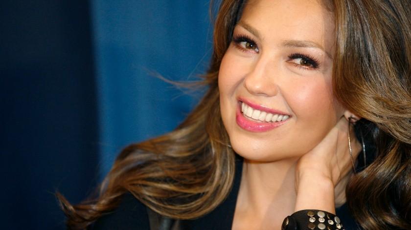 Thalía ha recibido muchos halagos por esta instantánea(EFE, Newscom)