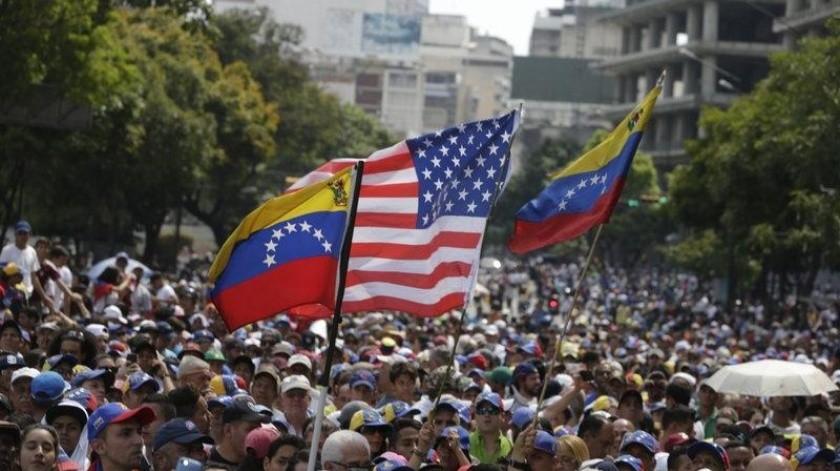 Estados Unidos ve la reelección de Maduro como fraudulenta.(AP)