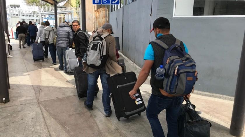 Los mexicanos ingresaron de manera legal para desempeñar trabajo en el campo agrícola