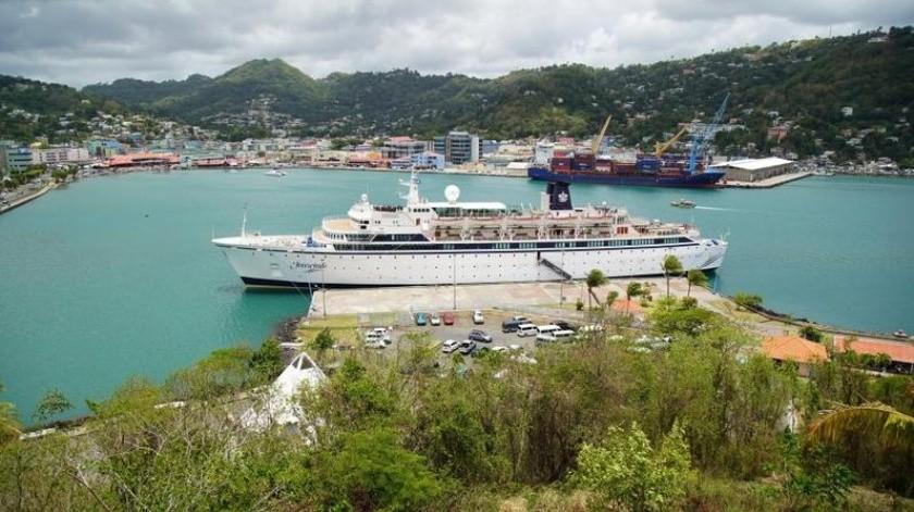 Un crucero en el Caribe fue puesto en cuarentena por sarampión.(AP)