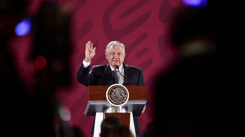 AMLO reconoció que se salieron de control los homicidios en Tijuana, Baja California.(Presidencia)
