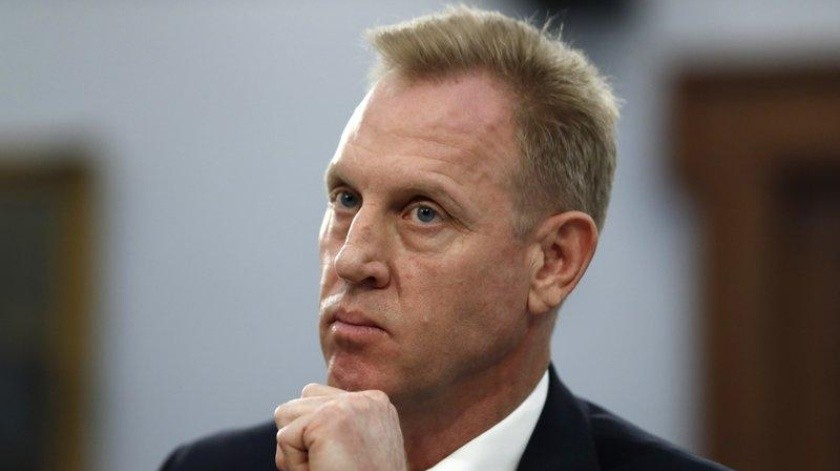 El secretario interino de Defensa Patrick Shanahan.(AP)