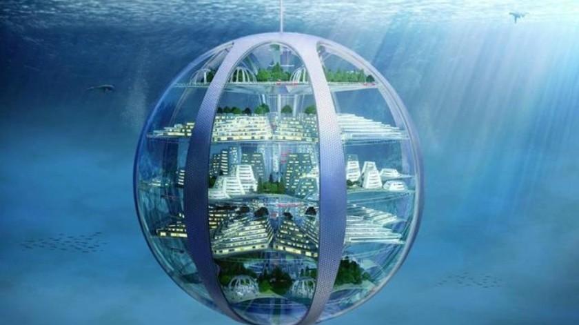 En cien años, ciudades submarinas, drones y rascacielos kilométros