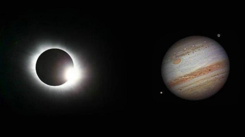 Feliz Día De La Mujer: Eclipse total, Júpiter en todo su esplendor y una superluna