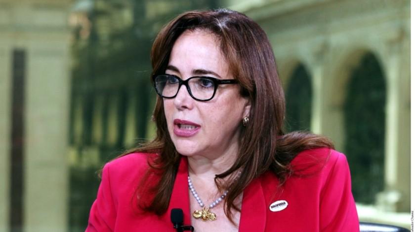 Presidenta nacional de Morena.(GH)