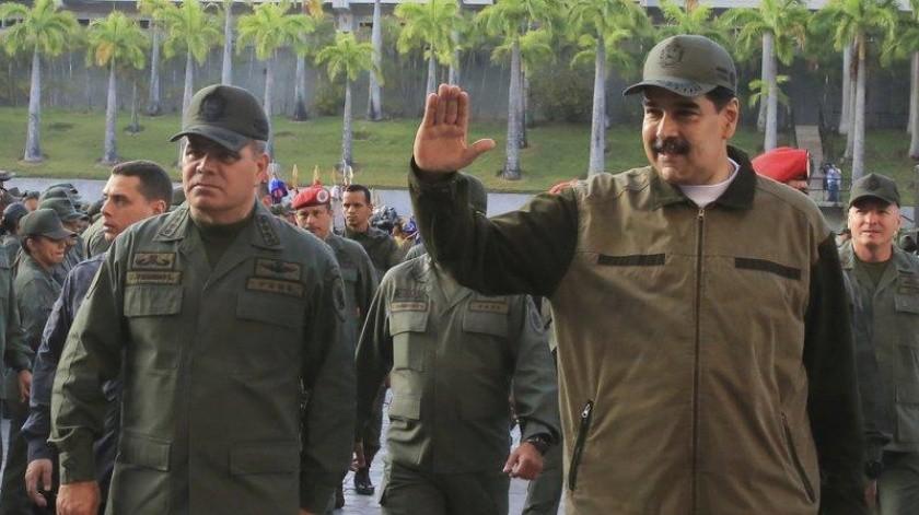 El presidente de Venezuela confirmó la muerte de 7 militares.(AP)