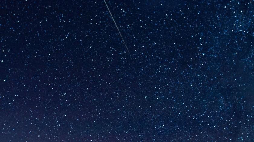 Lluvia de meteoros Eta Aquarids.