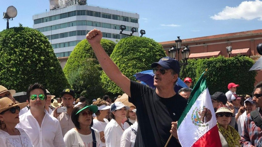 Se levanta Fox contra AMLO en Guanajuato.(Twitter@vicentefoxque)