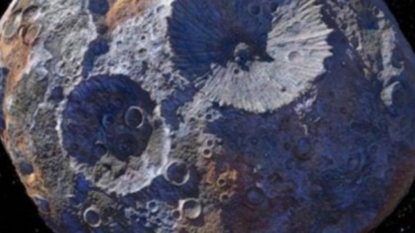 Encuentran agua en una piedra que viene del espacio(Tomada de la Red)