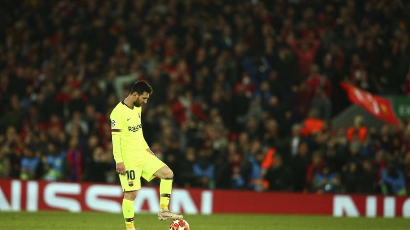 Sin Salah, ni Firmino, Liverpool blanqueó al Barcelona con Origi inspirado.(AP)