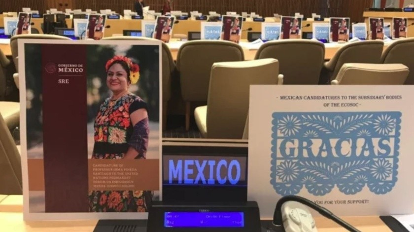 Gana México cuatro candidaturas ante la ONU(El Universal)