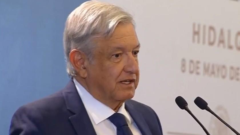 El presidente Andrés Manuel López Obrador ofreció su conferencia matutina desde Hidalgo.