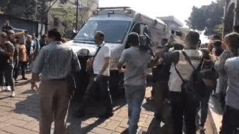 Jesús García, líder de un grupo de comerciantes que se manifestaba en el zócalo de Cuernavaca, falleció luego de ser baleado durante una protesta.