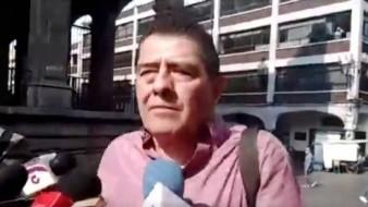 VIDEO: Ex árbitro, Gilberto Alcalá estuvo en medio de una balacera