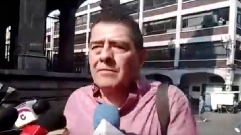 Gilberto Alcalá(Captura de video)