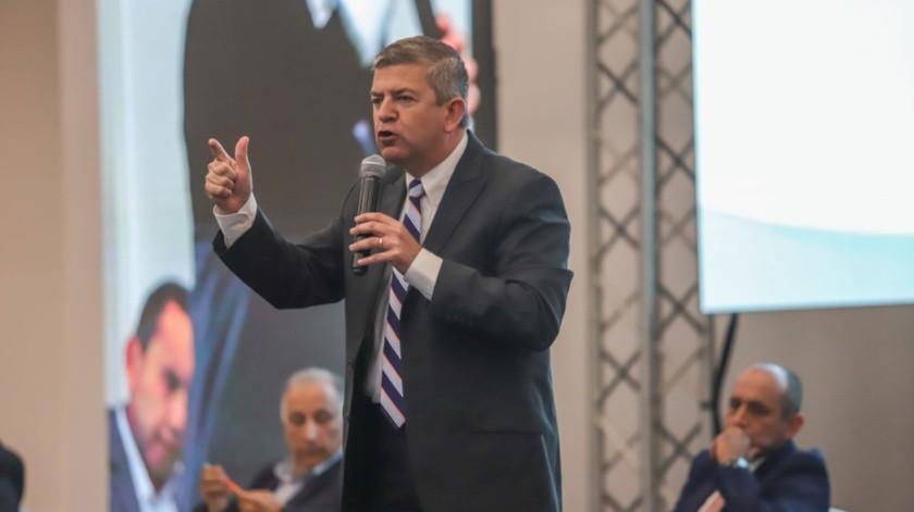 Óscar Vega Marín, del PAN.(Sergio Ortiz)