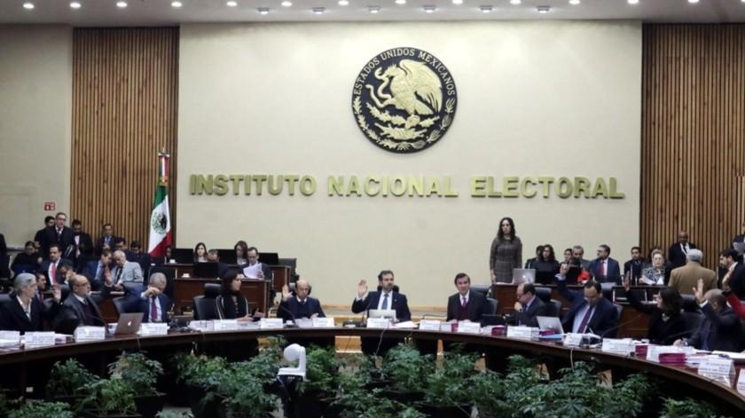 Instituto Nacional Electoral.(GH)