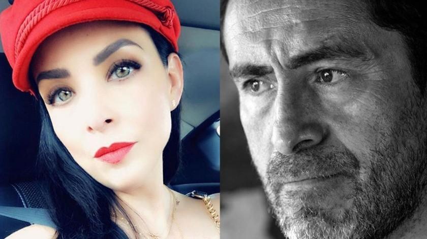Lisset y Demián Bichir estuvieron casados.(Cortesía)