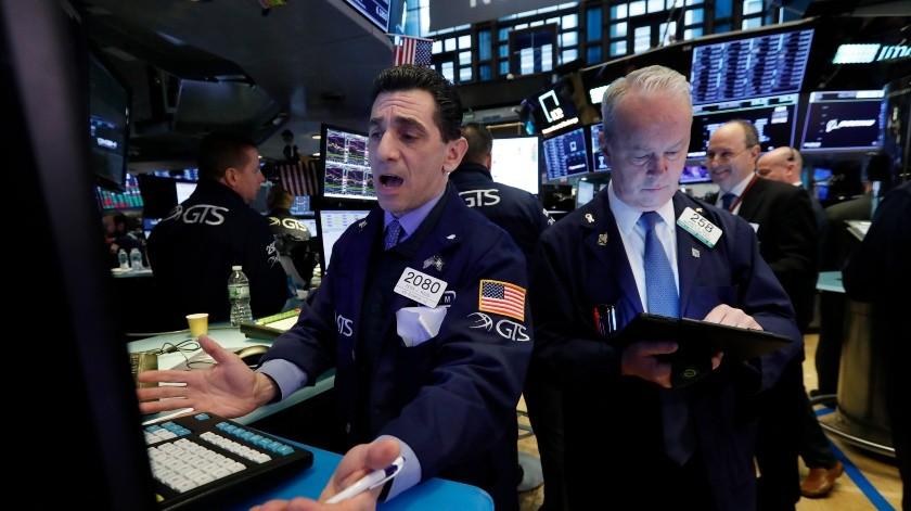 La actividad en la Bolsa de Valores de Nueva York el 11 de marzo del 2019.(AP)