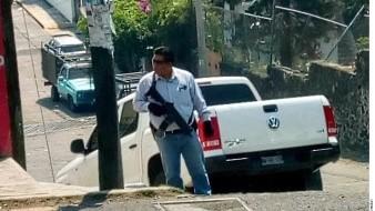 Casa de agresor de Cuernavaca fue cateada por la fiscalía