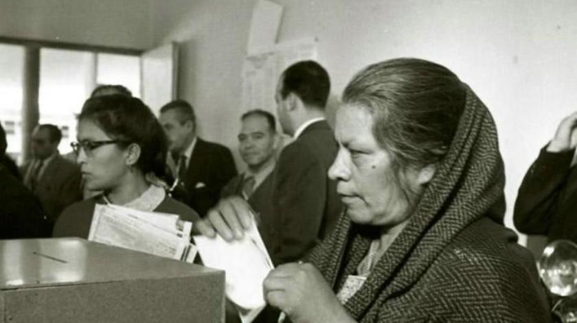 Seis décadas de sufragio femenino