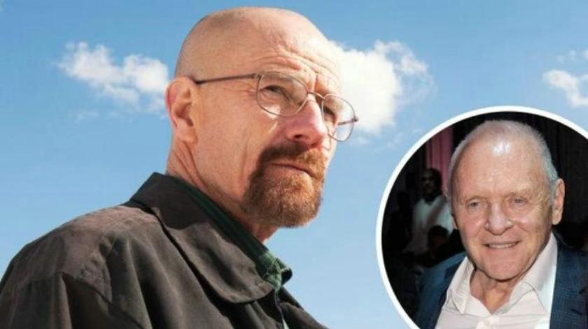 La increíble carta de Anthony Hopkins al actor de Breaking Bad