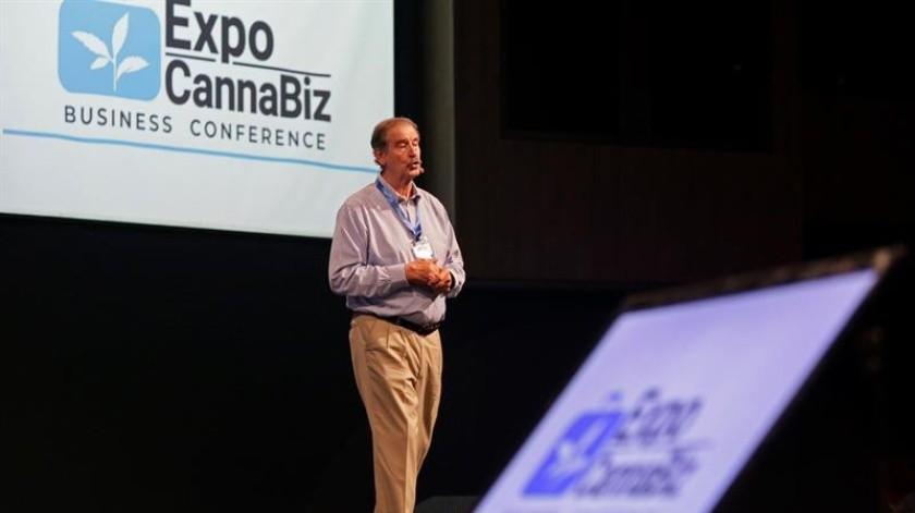 Vicente Fox asiste a ExpoCannaBiz Business Conference en Cartagena.(EFE)