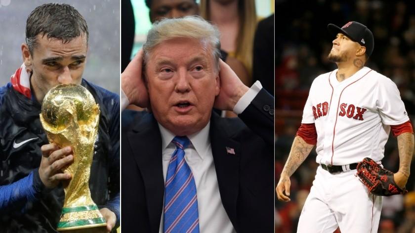 Para Trump Medias Rojas es igual a Francia.(AP)