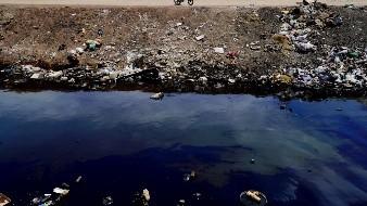 Contaminan con aceite dren en el Valle