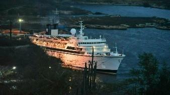 Crucero de ''inmortales'' permanece en cuarentena