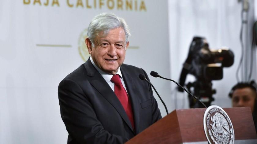El presidente López Obrador dijo que llevaría señal de Internet a todo el País.