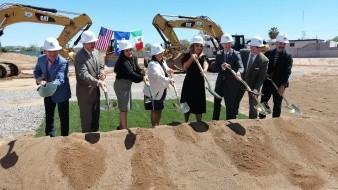 Se colocó la primera piedra del nuevo Consulado General de EU en Hermosillo.