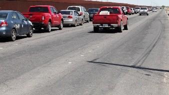 El horario de atención en el cruce fronterizo de la garita este de Mexicali será de 6 AM a 12 AM.