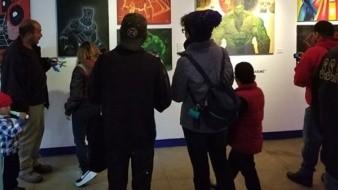 La exposición está conformada por 26 obras de diferentes formatos con la técnica Óleo sobre tela.