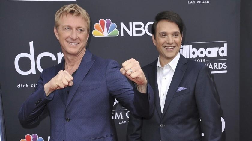 """Macchio protagoniza la serie de YouTube """"Cobra Kai"""", una secuela de sus películas de los 80 """"Karate Kid"""".(AP)"""