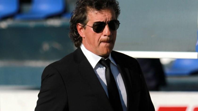 Rubén Omar Romano fue privado de su libertad en 2005, cuando dirigía a Cruz Azul.(GH)