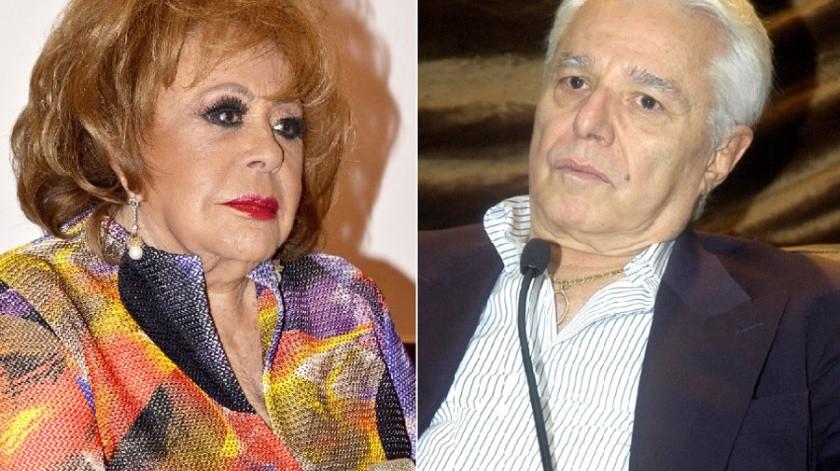 Silvia Pinal y Enrique Guzmán.