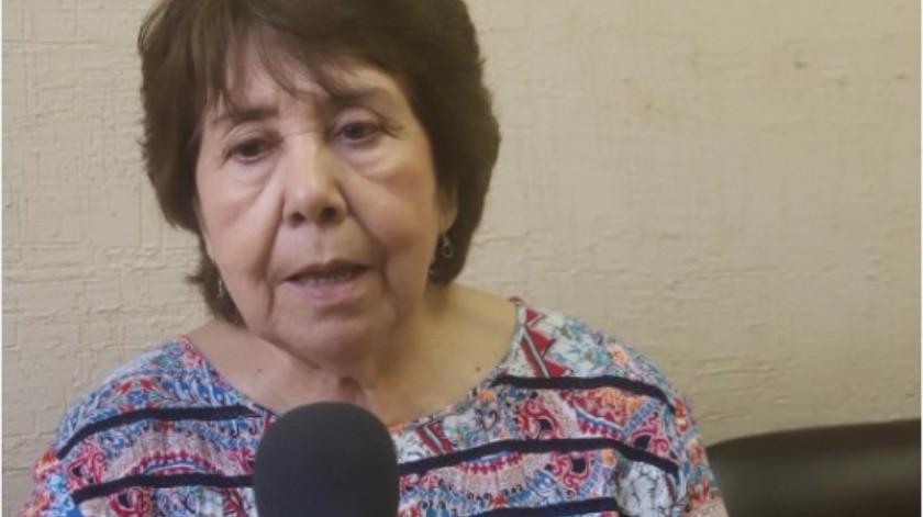 María Teresa Alessi Molina, maestra de Letras y Lingüística e idiomas.