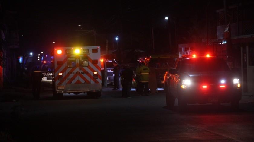 El cuerpo fue localizado durante los primeros minutos después de la medianoche.