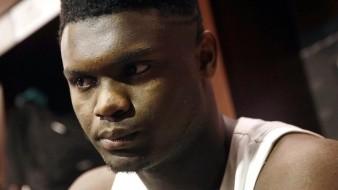 Futuro de Zion Williamson se definirá en la lotería del draft de la NBA