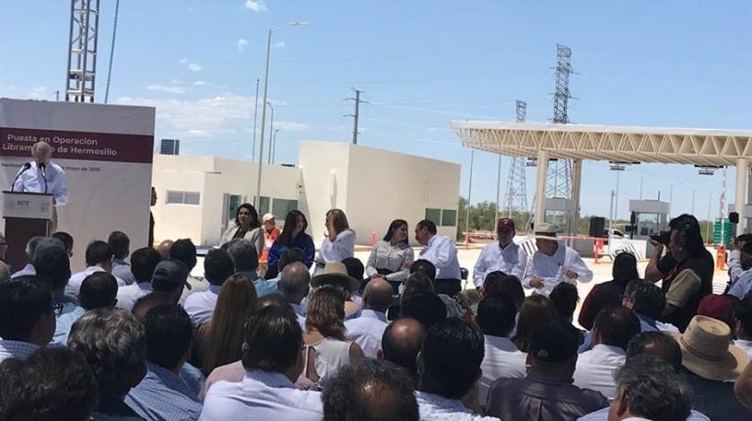 Este martes se inauguró el libramiento de Hermosillo.
