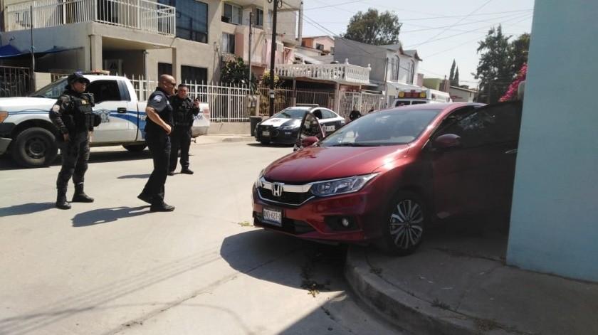 La víctima fue identificada como Christian Iván Rodríguez Márquez, agente de la Policía Municipal incapacitado desde 2008.(Margarito Martínez)