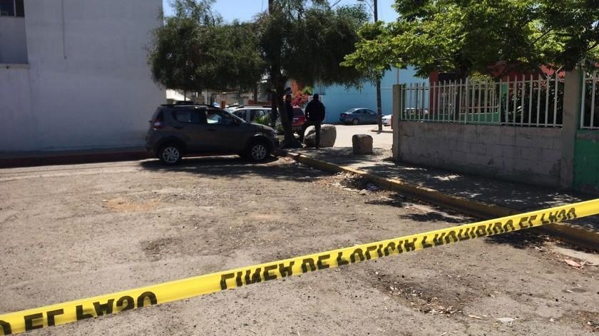 El oficial abatido, Christian Iván Rodríguez Márquez, fue víctima de un ataque con arma de fuego en 2008, lo que provocó que se le otorgara incapacidad permanente por las lesiones sufridas.(Margarito Martínez)